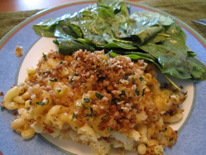 cauliflower mac with salad.jpg
